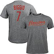 Majestic Threads Men's Houston Astros Craig Biggio Tri-Blend T-Shirt