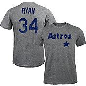 Majestic Threads Men's Houston Astros Nolan Ryan Tri-Blend T-Shirt