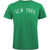 Majestic Threads Men's New York Yankees St. Patrick's Day Tri-Blend T-Shirt