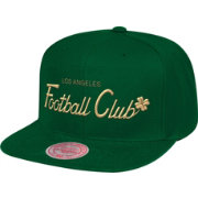 Mitchell & Ness Men's Los Angeles FC 4-Leaf Clover Green Snapback Adjustable Hat