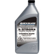 Mercury Quicksilver Premium Plus 2-Cycle Outboard Oil – Quart