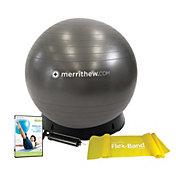 Merrithew Stability Ball w/ Base Bundle