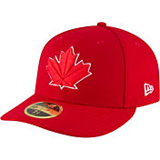 New Era Men's Toronto Blue Jays 59Fifty Alternate Red Low Crown Fitted Hat