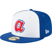 New Era Men's Atlanta Braves 59Fifty 1972 White Fitted Hat