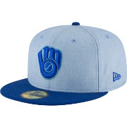 New Era Men's Milwaukee Brewers 59Fifty 2018 Father's Day Fitted Hat