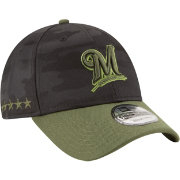 New Era Men's Milwaukee Brewers 9Forty 2018 Memorial Day Adjustable Hat