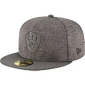 New Era Men's Milwaukee Brewers 59Fifty Clubhouse Fitted Hat