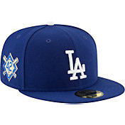 New Era Men's Los Angeles Dodgers 59Fifty Game Royal Authentic Hat w/ Jackie Robinson Day Patch