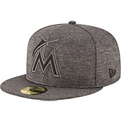 New Era Men's Miami Marlins 59Fifty Clubhouse Fitted Hat
