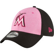 New Era Men's Miami Marlins 39Thirty 2018 Mother's Day Stretch Fit Hat