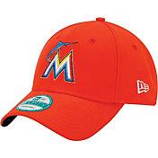 New Era Men's Miami Marlins 9Forty Adjustable Hat