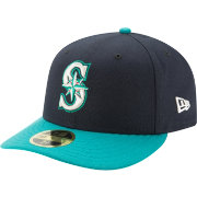 New Era Men's Seattle Mariners 59Fifty Alternate Navy Low Crown Fitted Hat