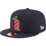 New Era Men's Los Angeles Angels 59Fifty 1971 Navy Fitted Hat