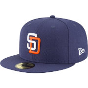 New Era Men's San Diego Padres 59Fifty 1991 Navy Fitted Hat