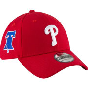 New Era Men's Philadelphia Phillies 39Thirty Red Stretch Fit Hat w/ Liberty Bell Patch