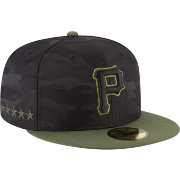 New Era Men's Pittsburgh Pirates 59Fifty 2018 Memorial Day Fitted Hat
