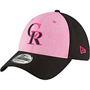 New Era Men's Colorado Rockies 39Thirty 2018 Mother's Day Stretch Fit Hat