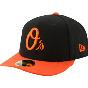 New Era Men's Baltimore Orioles 59Fifty Alternate Black Low Crown Fitted Hat