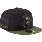 New Era Men's Boston Red Sox 59Fifty 2018 Memorial Day Fitted Hat
