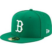 New Era Men's Boston Red Sox 59Fifty Basic Green Fitted Hat