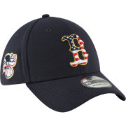 New Era Men's Boston Red Sox 39Thirty 2018 4th of July Stretch Fit Hat