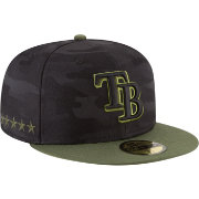 New Era Men's Tampa Bay Rays 59Fifty 2018 Memorial Day Fitted Hat