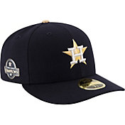 New Era Men's Houston Astros Championship Gold 59Fifty Low Crown Fitted Hat