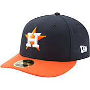 New Era Men's Houston Astros 59Fifty Road Navy Low Crown Fitted Hat
