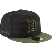 New Era Men's Detroit Tigers 59Fifty 2018 Memorial Day Fitted Hat