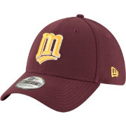 New Era Men's Minnesota Twins 39Thirty City Pride Maroon/Gold Stretch Fit Hat