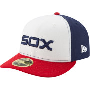New Era Men's Chicago White Sox 59Fifty Alternate White/Navy Low Crown Fitted Hat