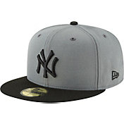 New Era Men's New York Yankees 59Fifty Basic Grey Fitted Hat