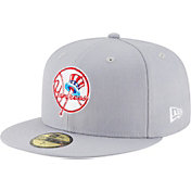 New Era Men's New York Yankees 59Fifty 1946 Grey Fitted Hat