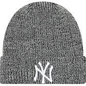 New Era Men's New York Yankees Grey Knit Hat