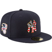 New Era Men's New York Yankees 59Fifty 2018 4th of July Fitted Hat