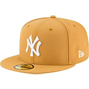 New Era Men's New York Yankees 59Fifty Basic Tan Fitted Hat