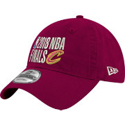 New Era Men's 2018 NBA Finals Cleveland Cavaliers 9Twenty Burgundy Adjustable Hat