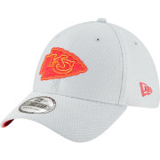 New Era Men's Kansas City Chiefs Sideline Training Camp 39Thirty Grey Stretch Fit Hat