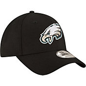 New Era Men's Philadelphia Eagles 9Forty Adjustable Black Hat