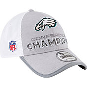 New Era Men's NFC Conference Champions Philadelphia Eagles Locker Room 9Forty Adjustable Hat