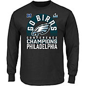 NFL Men's NFC Conference Champions Philadelphia Eagles Scramble Black Long Sleeve Shirt