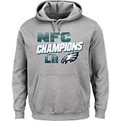 NFL Men's NFC Conference Champions Philadelphia Eagles Wonderstruck Grey Hoodie