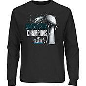 NFL Men's Super Bowl LII Champions Philadelphia Eagles Parade Long Sleeve Black Shirt
