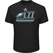 NFL Men's Super Bowl LII Champions Philadelphia Eagles Fanfare Black T-Shirt