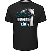 NFL Men's Super Bowl LII Champions Philadelphia Eagles Parade Black T-Shirt
