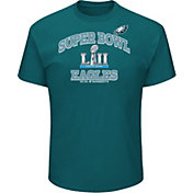 NFL Men's Super Bowl LII Bound Philadelphia Eagles Heart and Soul Green T-Shirt