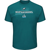 NFL Men's Super Bowl LII Bound Philadelphia Eagles Road to Minnesota Roster Green T-Shirt