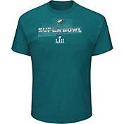 NFL Men's Super Bowl LII Bound Philadelphia Eagles Road to Minnesota Roster Green T-Shirt
