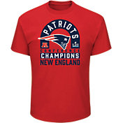 NFL Men's AFC Conference Champions New England Patriots Scramble Red T-Shirt