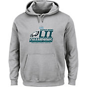 NFL Youth Super Bowl LII Champions Philadelphia Eagles Fanfare Grey Hoodie